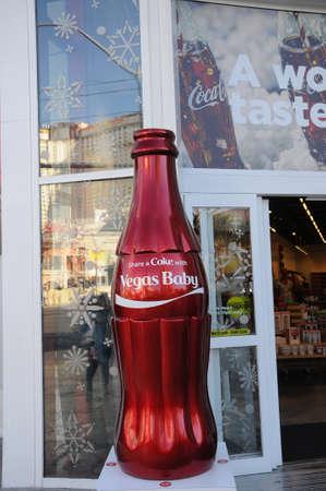 LAS VEGAS  NEVADAUSA 15 December  2017.  Coca cola store on Las Vegas BLVD in Las Vegas .