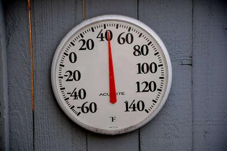 Temperature around 9.am in Lewiston, Idaho, USA