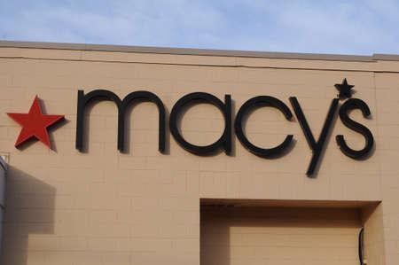 LEWISTONIDAHOUSA 21 December  2017.    Macys store in mall .