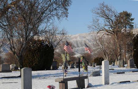 LEWISTONIDAHOUSA 23.December  2017.  Idaho weather ssun shine on   Saturday  and 26 F Fahrenheit cold weather in Lewiston valley