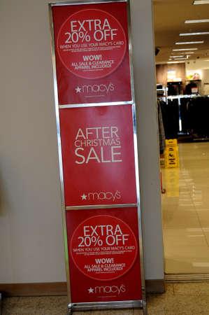 LEWISTONIDAHOUSA 26.December  2017.  60-75 % sale after christmas sale at Marchys.