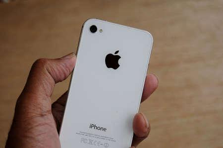 Copenhagen Denmark - 18 January 2018  . Iphone 5S apple product. Editorial