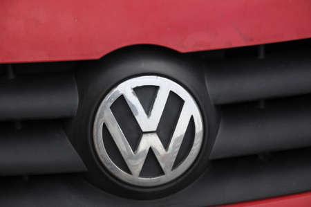 Copenhagen Denmark - 30.January 2018_ .German auto VW volks wagen .