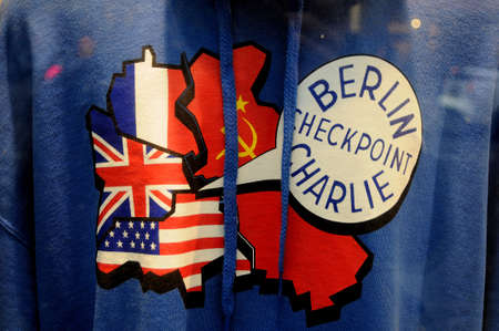 Check point charlieberlain 05.March 2019. _Images are from Check point charlie, berlin 1989-2019 this Berlin Germany celebrate 30 years since Berlain wall fall .
