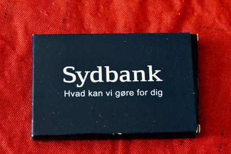 Copenhagen Denmark. 17.March 2019.-.Sydbank what we do for you danish sydbank in danish capital.