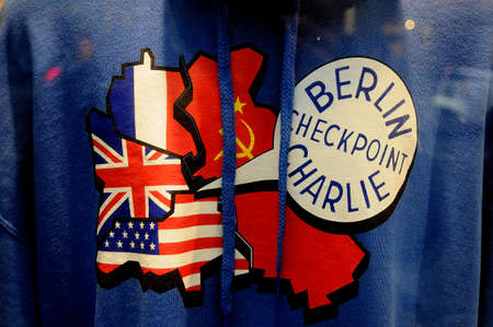 Check point charlie/berlain/ 05.March 2019. _Images are from Check point charlie, berlin 1989-2019 this Berlin Germany celebrate 30 years since Berlain wall fall .