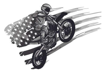 Motocross Logo, Motor cross Logo, Extreme sport