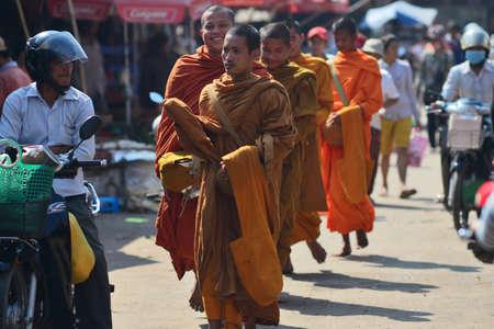 cambodian: Cambodian monk