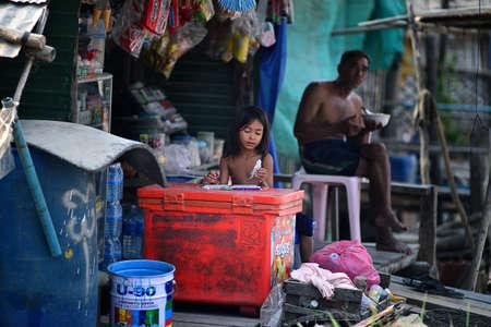 cambodian: Cambodian children Editorial