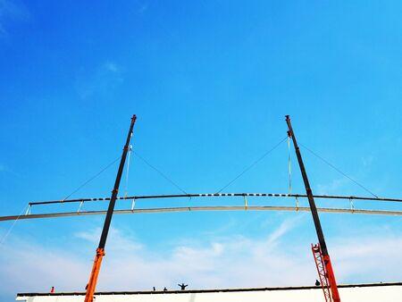 Mobile construction crane, truck crane boom