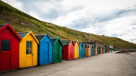 whitby: Beach huts,Whitby,Yorkshi re