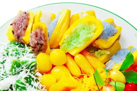 remix: Loukchub Thai dessert remix, glutinous rice in jackfruit, Thong Yhod