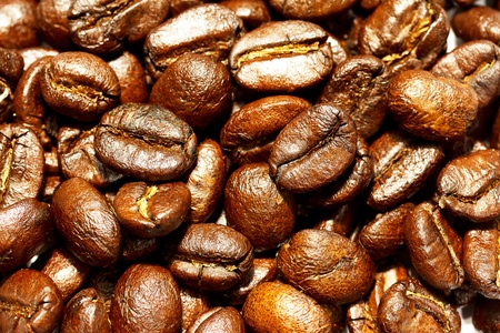 coffee bean close up Stock Photo - 9557675