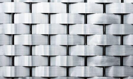 Weave iron fence texture  photo