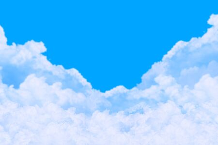 blue sky and white cloud Stock Photo - 9678805