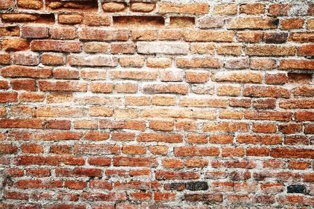 paredes de ladrillos: Antigua muralla de vintage grunge