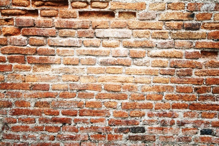 Old grunge vintage wall Stock Photo - 9817087