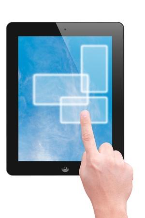 dictatorial: punto di mano per touch pad