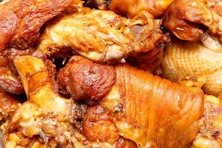 remix: Roast pork leg on the grill remix