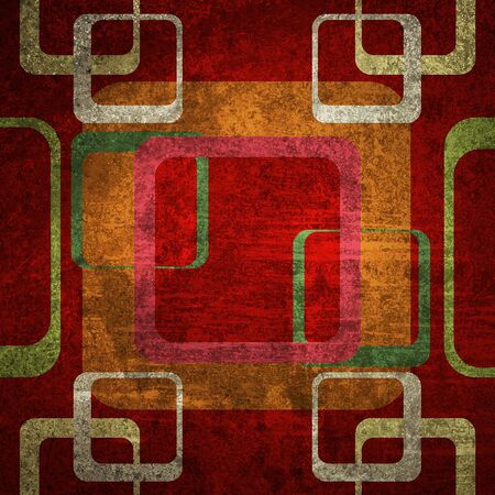 Old metal rusty grunge retro vintage paper background with pattern  photo