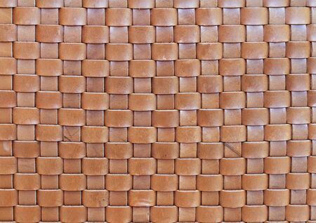 Weave of leather texture  photo