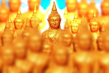 venerable: buddha sculpture