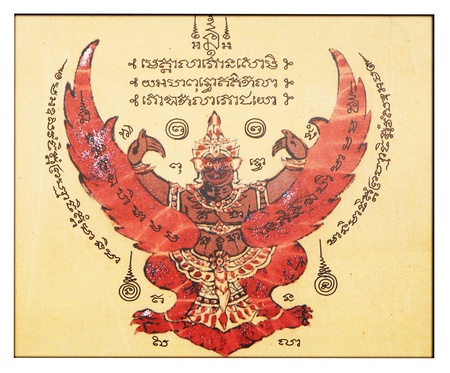 garuda: Garuda Asia talisman  Editorial