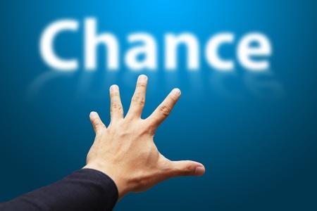 reaching out: Take A Chance