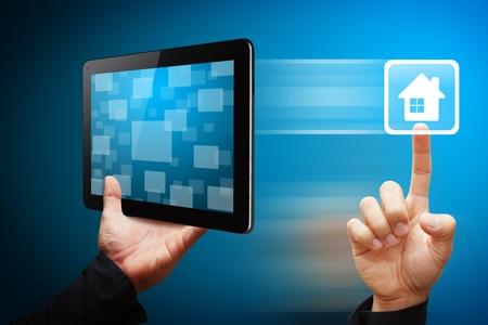 mano touch: Mano Smart Touch l'icona casa da tablet pc