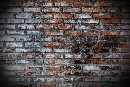 Old Grunge brick wall photo