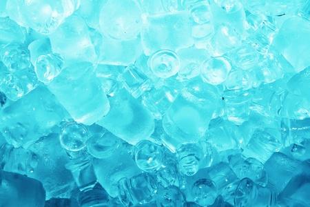 Real cool ice cube frozen background  Standard-Bild