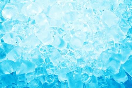 cubos de hielo: Real de fondo del cubo de hielo fresco congelado