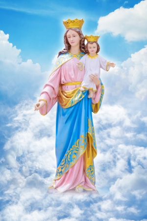 Mary and Joseph on the heaven