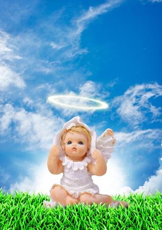 angel cemetery: Little angel