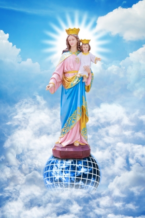 Jesus and Mary Stock Photo - 14396497