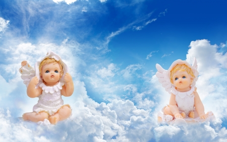 Two little angels  photo