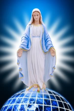 virgin: Saint Mary Stock Photo