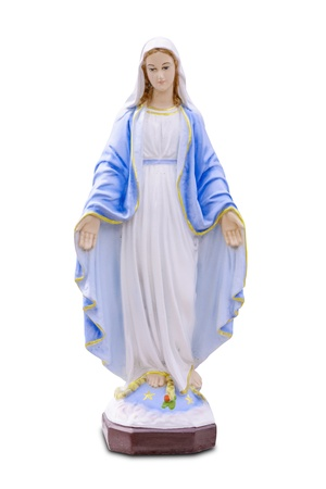 madonna: Saint Mary Stock Photo