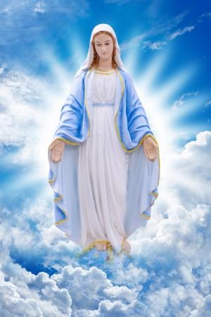 virgen maria: Santa Mar�a Foto de archivo