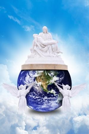 sacrificio: El sacrificio de Jes�s para ayudar a la tierra