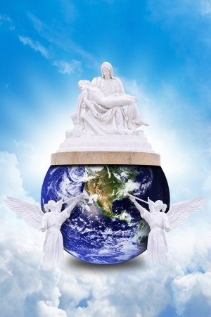 Sacrifice Jesus to help the earth photo