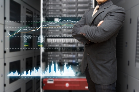 Network security: Programmer and graph report to monitor the system in data center room
