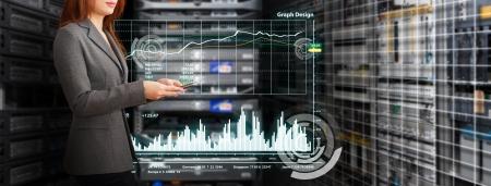 Programmer et graphique pour surveiller le syst�me