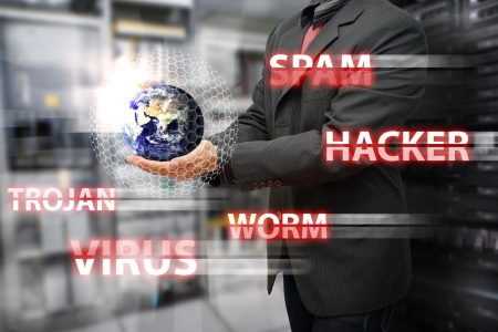 Programmer safe the world from virus and hacker