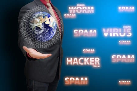 spy ware: Programmer and virus protection in data center room
