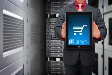e business: Icon control in data center room