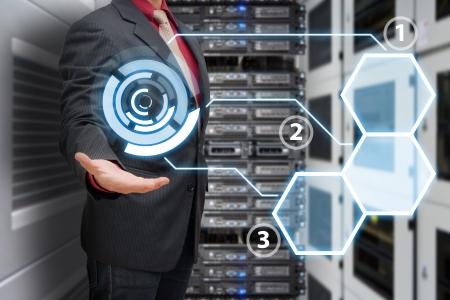 Icon control in data center room