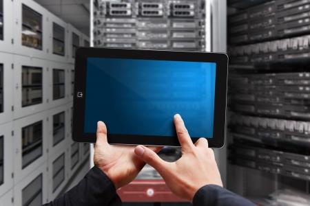 Digital tablet from programmer Stock Photo - 17518200