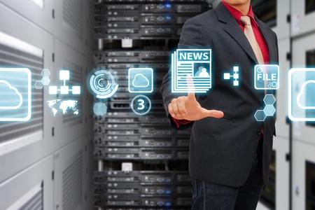 e systems: Icon control in data center room