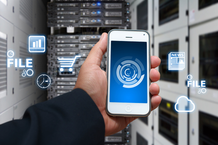 e systems: icon control the system from smart phone